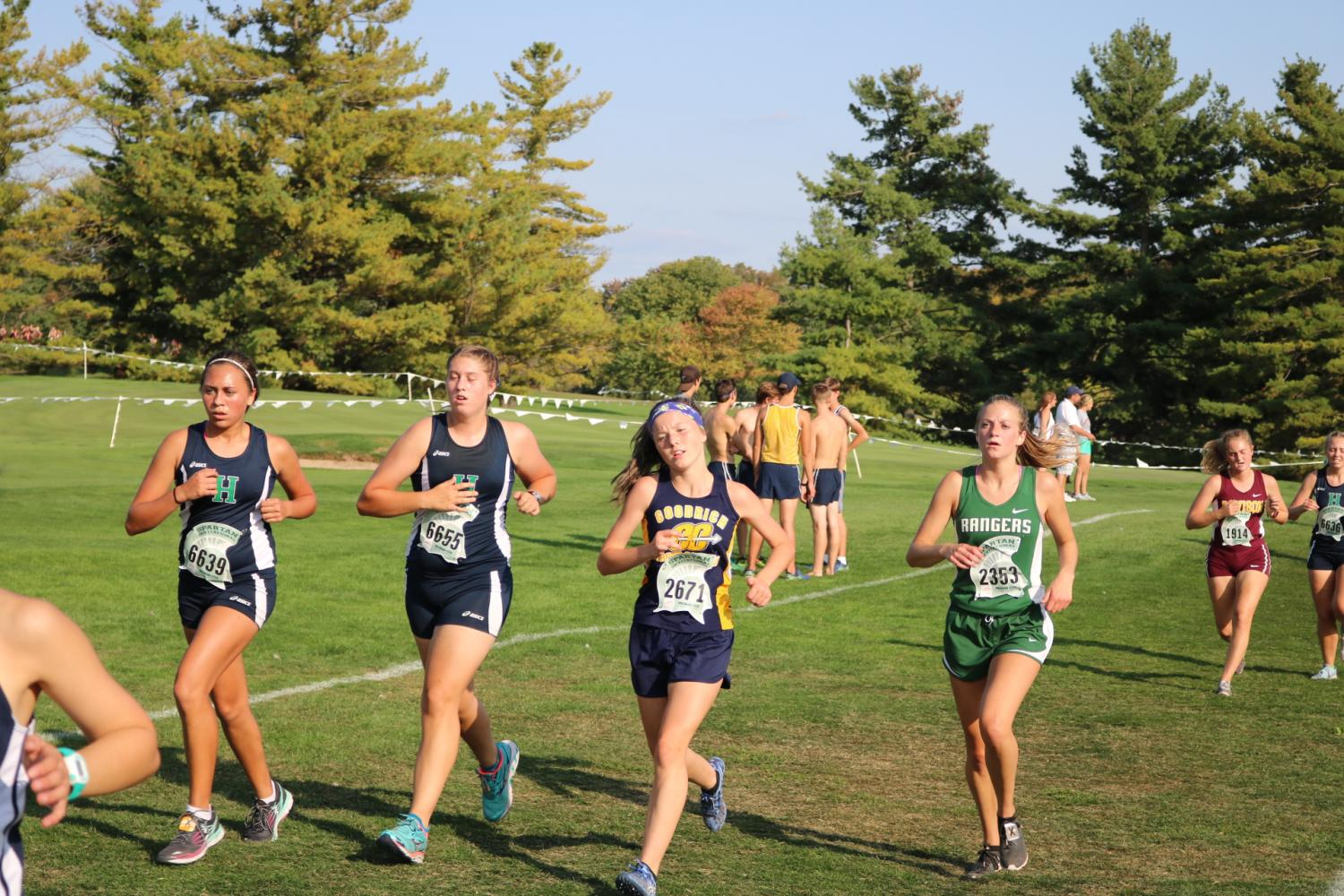Cross Country succeeds at Cougar Falcon Invite