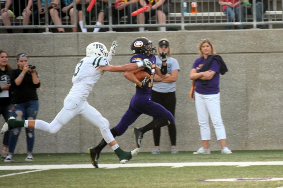 FHC improves to 4-0 after throttling Greenville 49-7