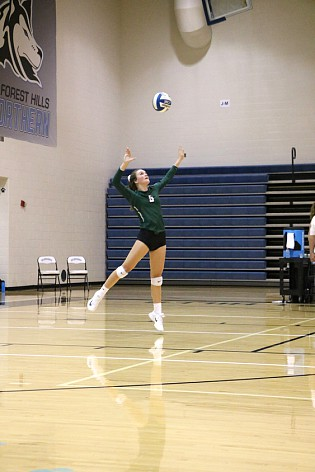 Freshmen on varsity: Hannah Bergman