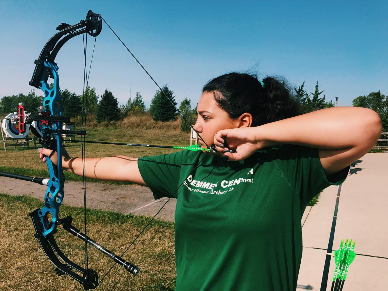 Maya Gulick made a passion out of archery