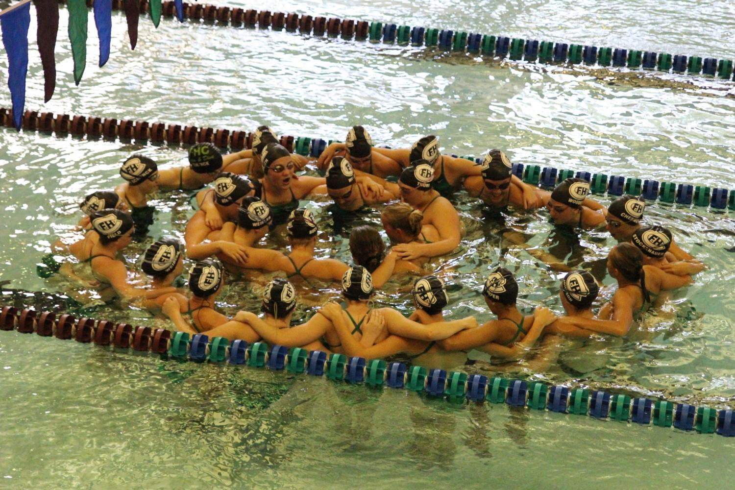Girls swim and dive team edges past Northview 94.5-89.5
