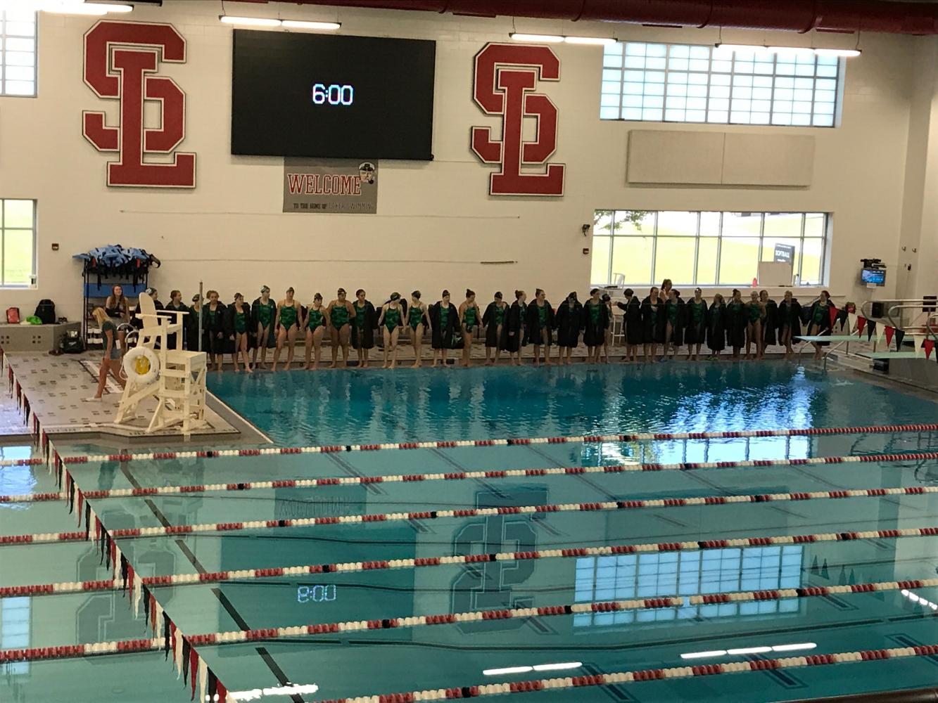 Girls swim and dive defeats Spring Lake 99-79
