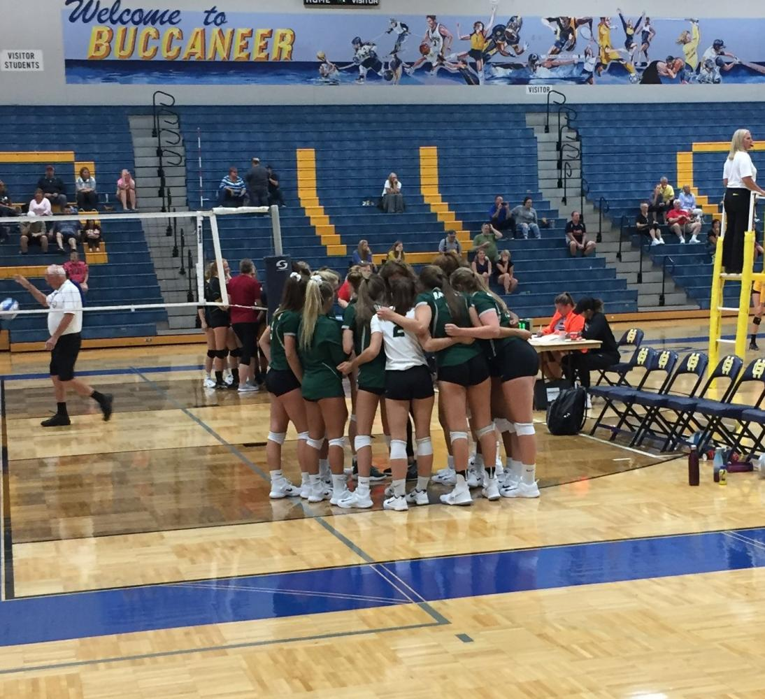 Varsity volleyball's struggles continue in Grand Haven tournament