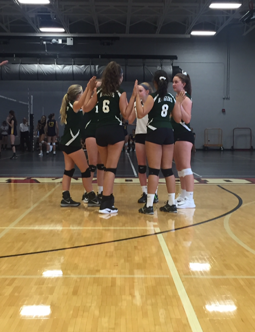 JV Volleyball wins big at the Battle of the Hills