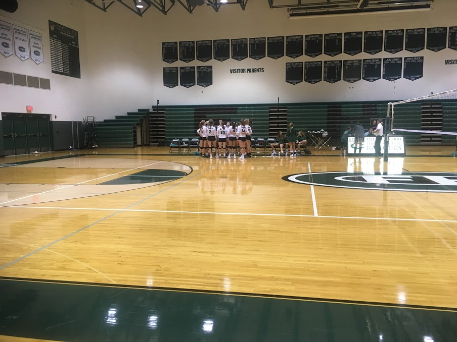 JV Volleyball defeats the Northview Wildcats 2-0