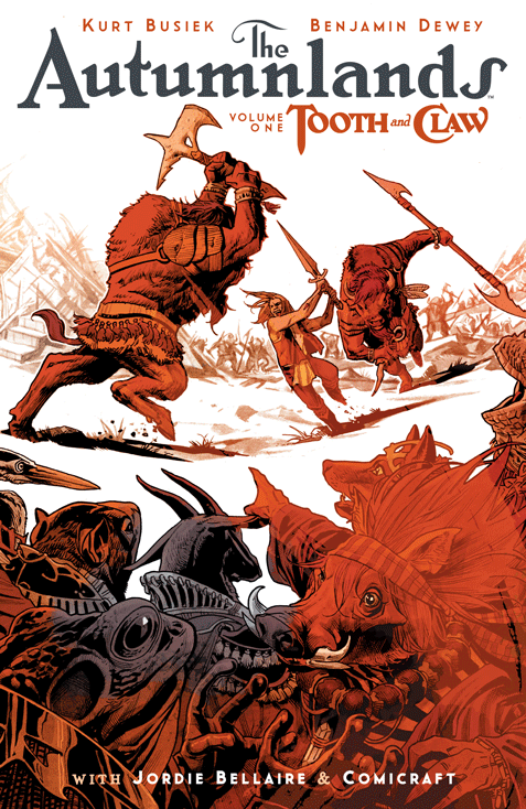 In The Autumnlands Zootopia meets Conan in a magical way
