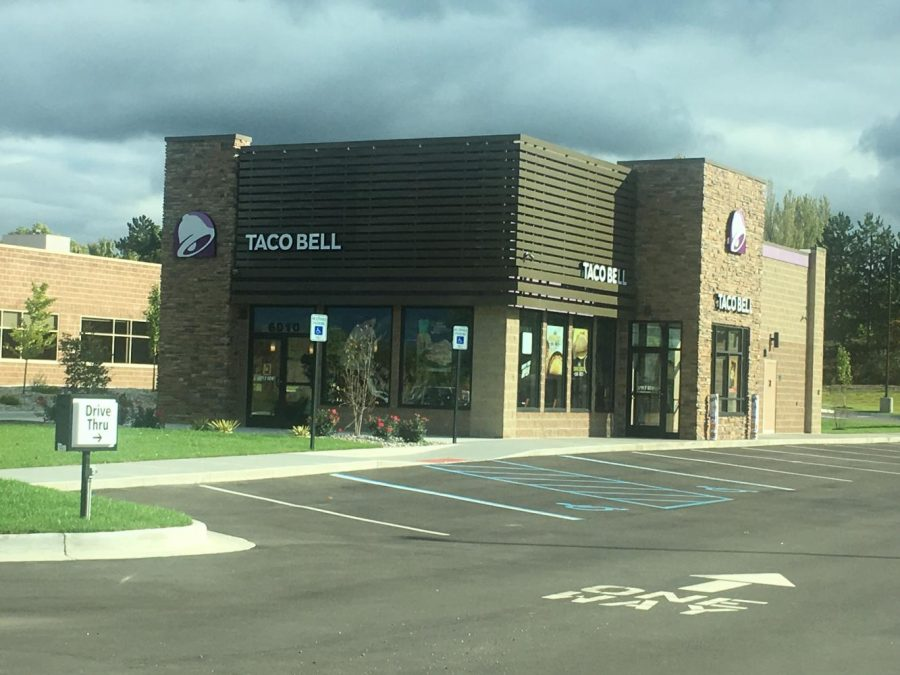 The new Taco Bell did not meet my expectations