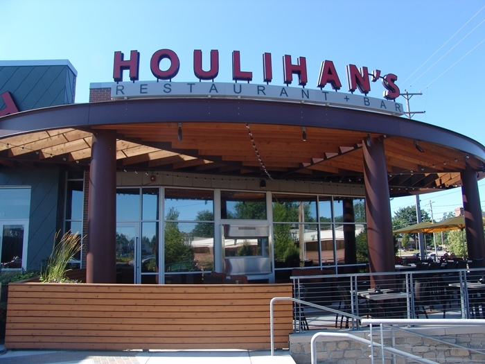 Houlihan's offers wonderful food and service