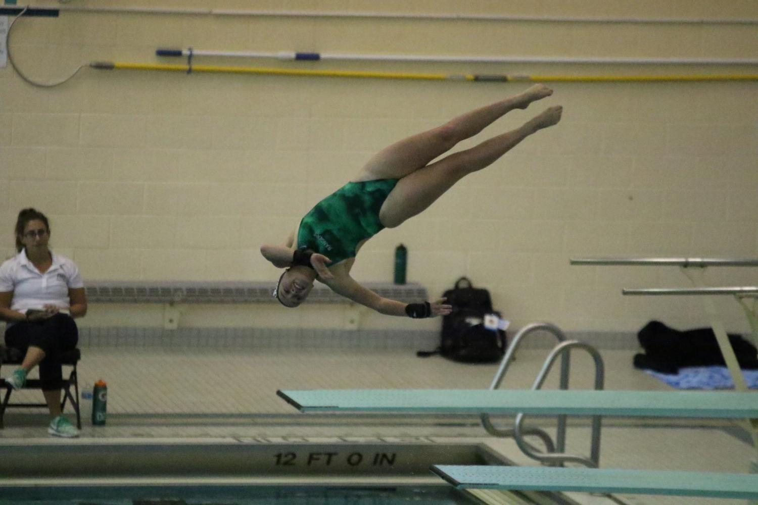 FHC Girls Swim and Dive vs FHNE: October 3rd 2017
