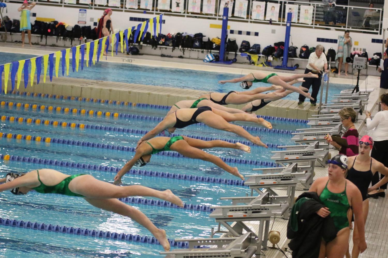 FHC Girls Swim and Dive vs EGR: October 17th 2017