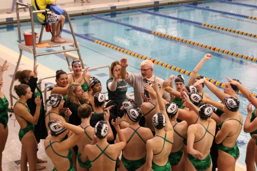 Girls swim and dive falls to EGR 109-72