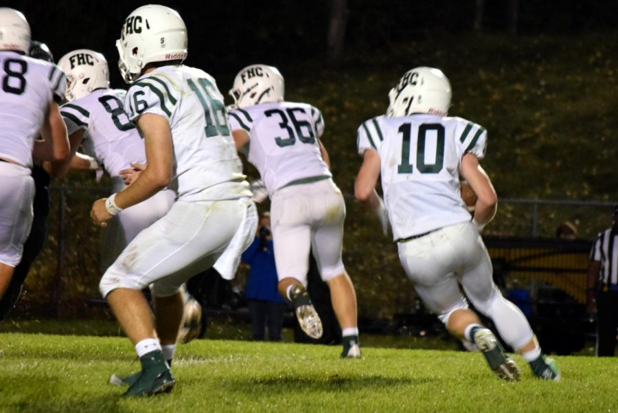 FHC clinches home-field advantage in playoffs; beats Wayland 35-0