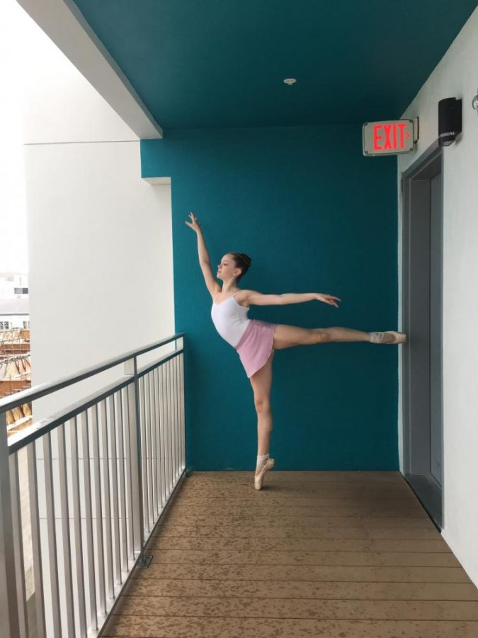 Olivia Throop explores dance with the West Michigan Youth Ballet