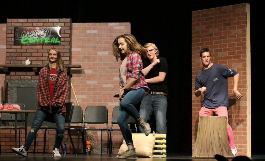 This year's fall play, Noises Off, is expected to please