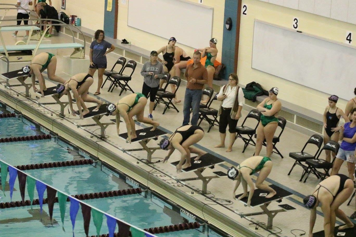 Girls Swim and Dive comes out victorious in the Battle of the Hills, 103-80