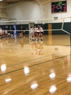 Freshman Volleyball cruises past FHN 2-0