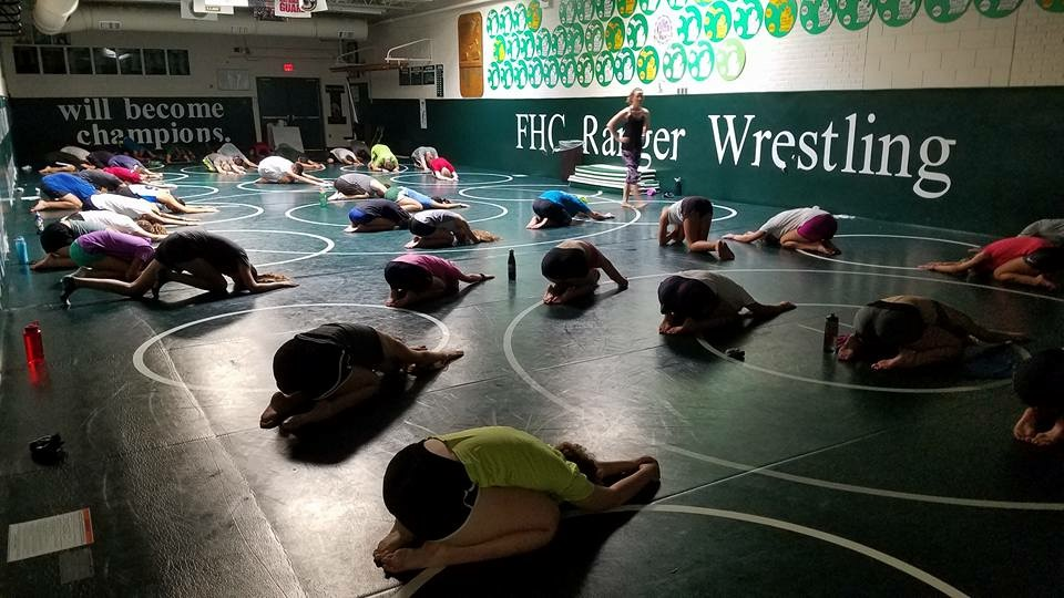 Cross country adds yoga and swim to their practices