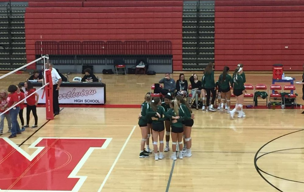 After hard fought sets, varsity volleyball loses to Northview 0-3