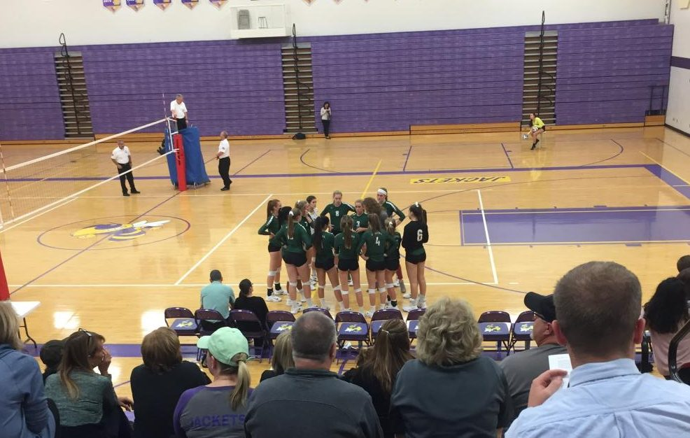 Varsity volleyball earns another win over Greenville 3-1