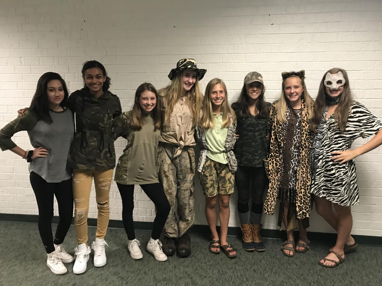 Homecoming Spirit Week 2017 Day 3: Wilderness Day