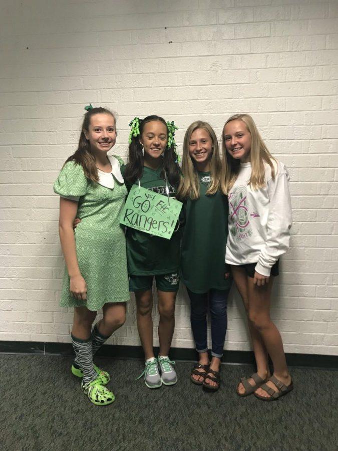Homecoming Spirit Week 2017 Day 5: Ranger Spirit Day