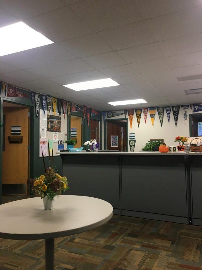 The counseling office deserves a thank you