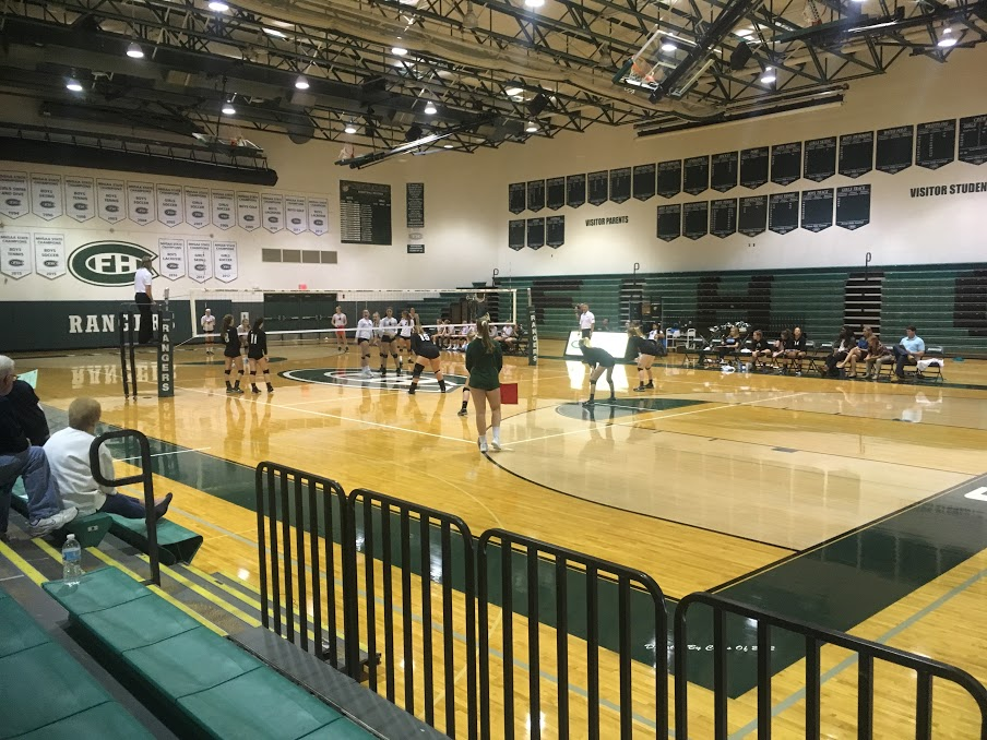 JV Volleyball wins big against Northern