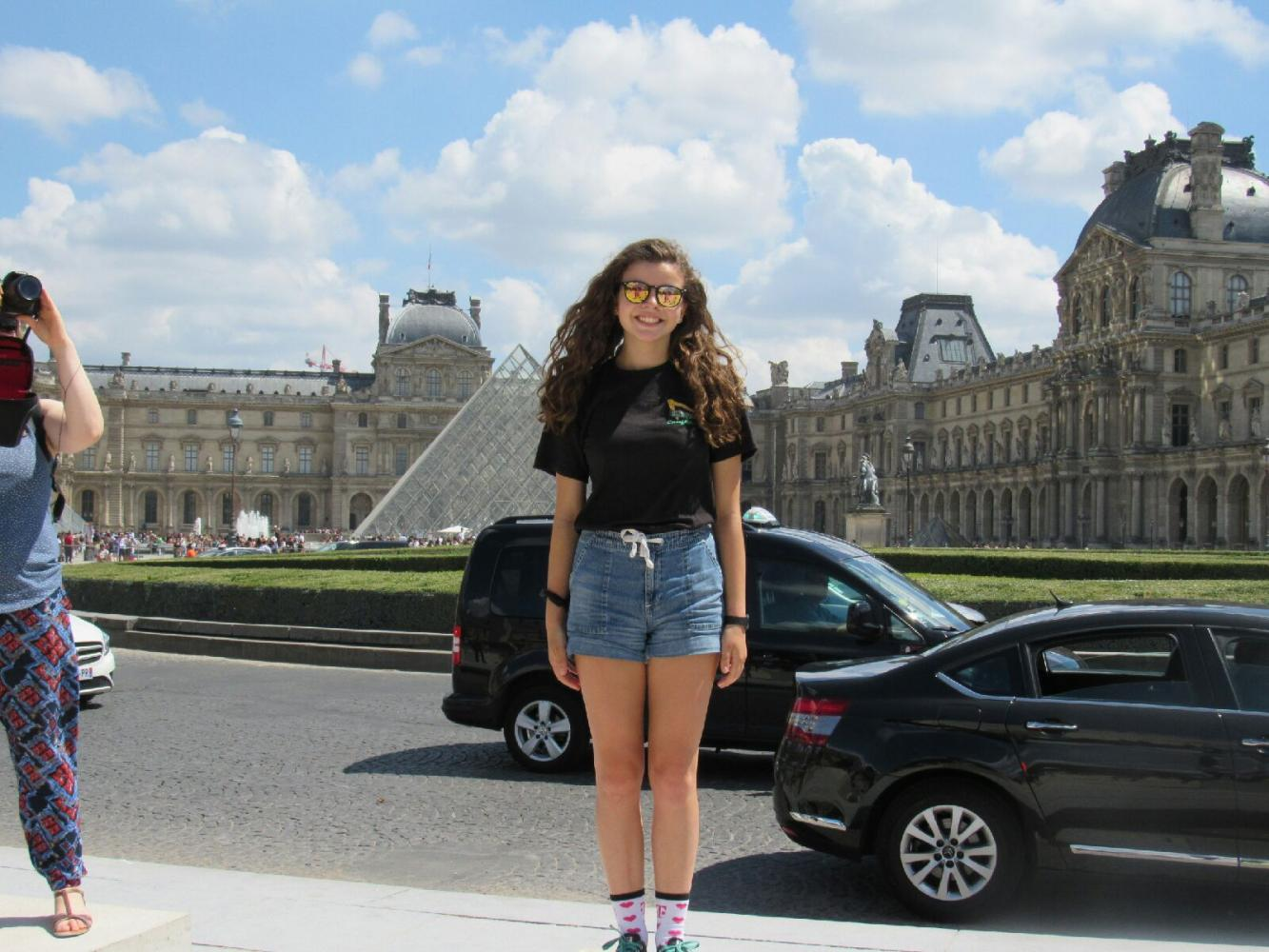 Emily Kostbade's experience in France teaches valuable lessons