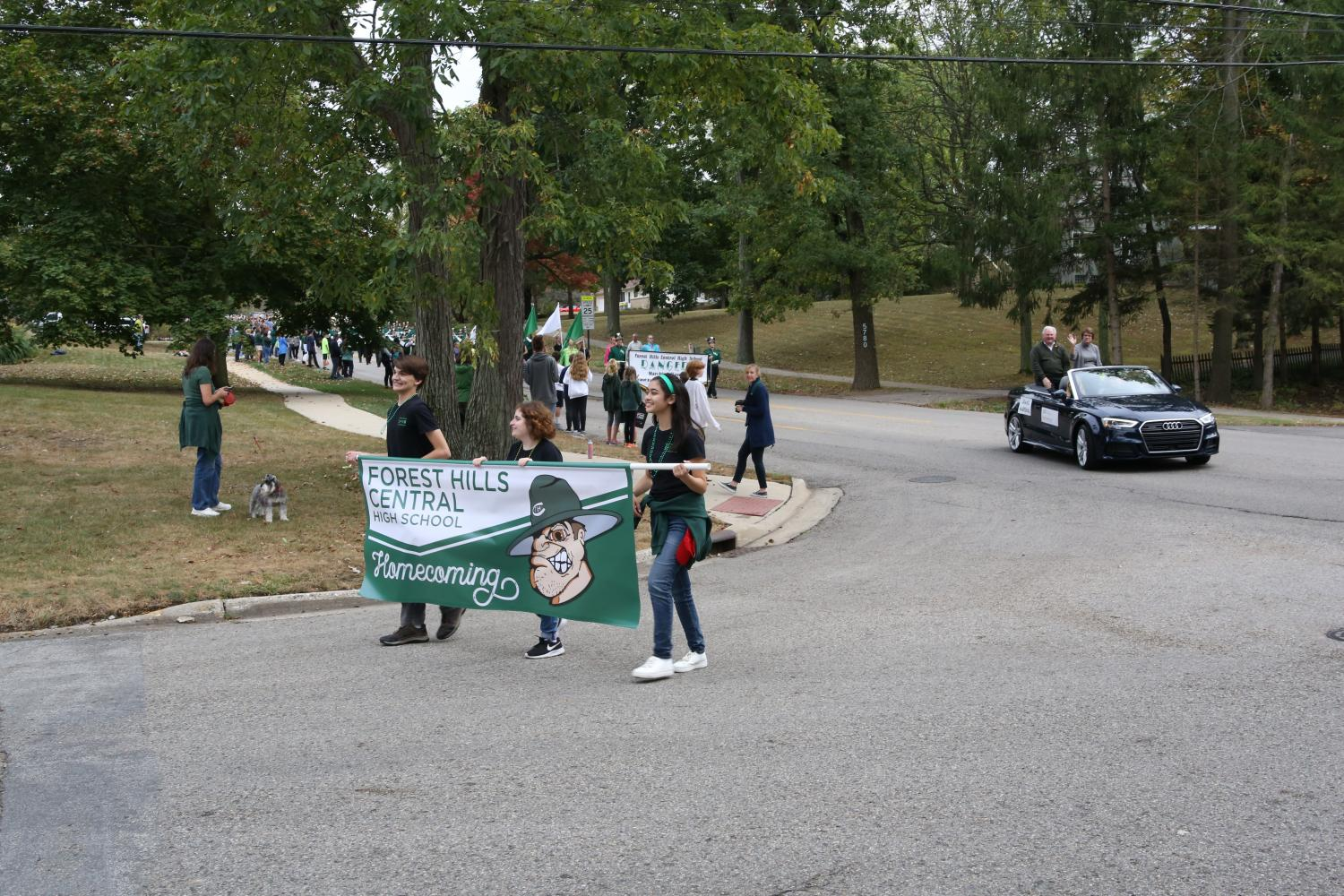 Homecoming Parade: October 6, 2017