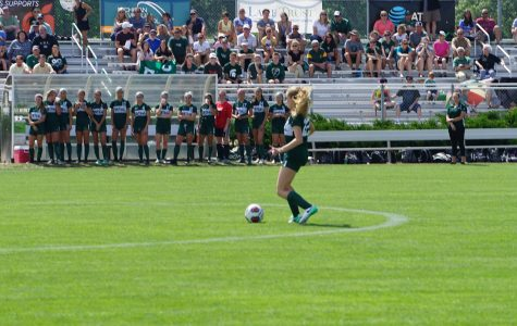 Junior Abby Irving's soccer career leads her to GVSU
