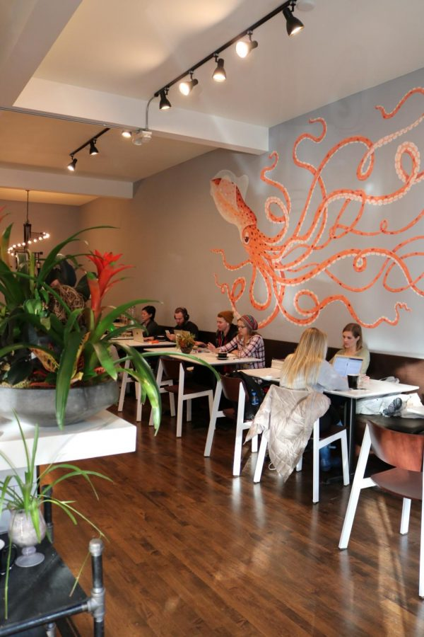 Squibb Cafe has refreshing tastes but lacks an upbeat atmosphere