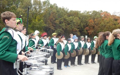 Photo Gallery: Marching Band at Pine Ridge- October 31st