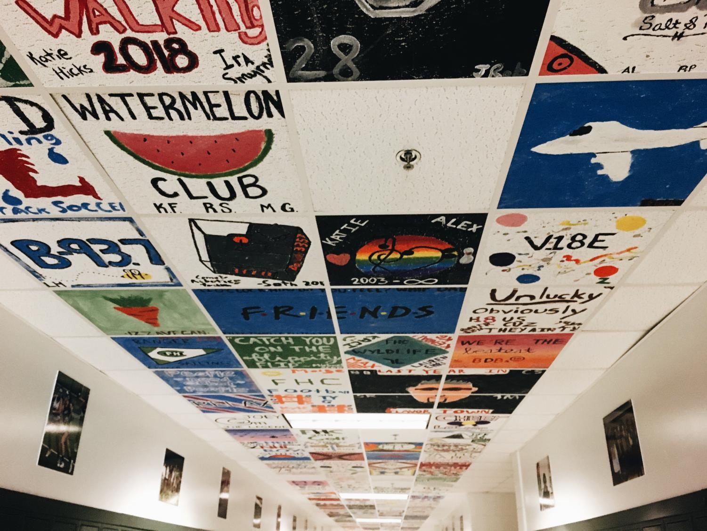Senior tiles tell the stories of friendships