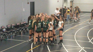 Freshman volleyball ends with a dominant 9-1 conference record