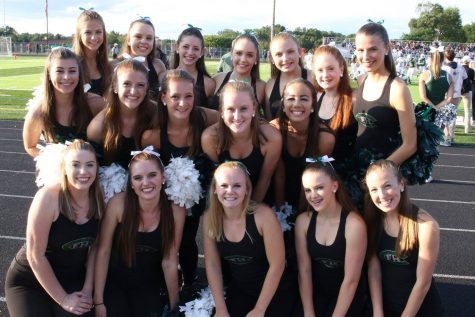 Dance team finishes in top twenty at Nationals