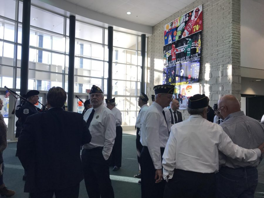 FHC honors Veteran's Day in a unique way