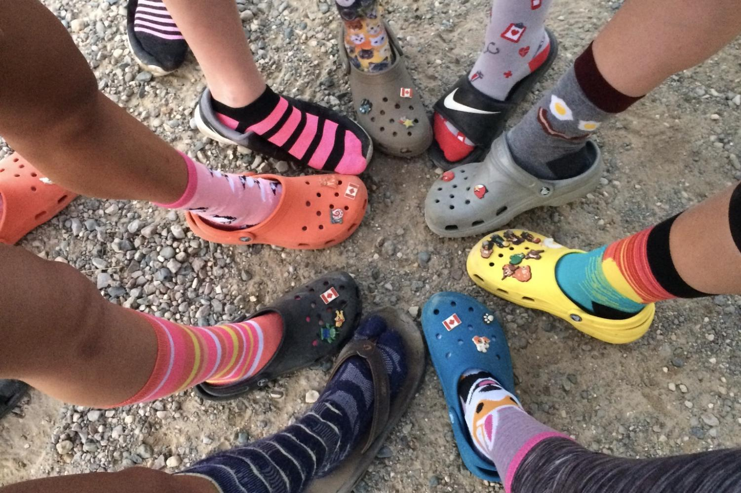 FHC womens' crew brings crocs back into style