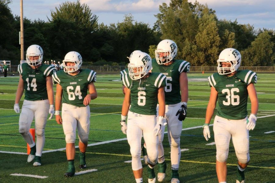 Q&A with two Ranger football players as they look ahead to Traverse City Central