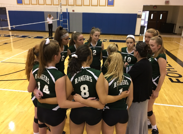 JV volleyball has an outstanding season