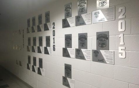 Forest Hills Central welcomes the New Hall of Fame