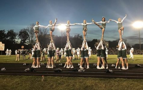 FHC's sideline cheer team excels through their hard work and determination