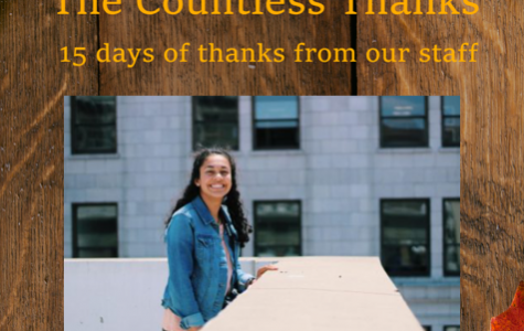 TCT's The Countless Thanks: Day 7 – Susannah Bennett
