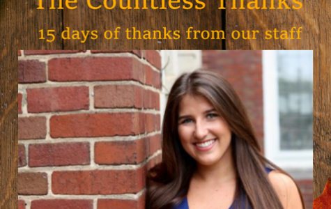 TCT's The Countless Thanks: Day 12 – Sarah Obermeyer