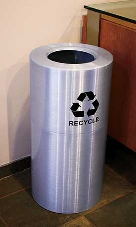 Recycling at FHC could be improved