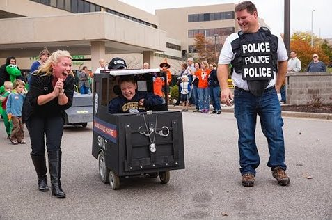 The Mary Free Bed Halloween Parade provided FHC with opportunities to serve and support