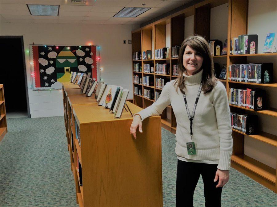 Monica Noonan loves improving the Media Center