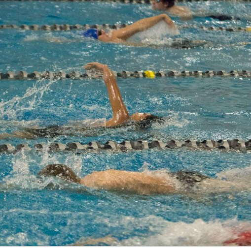 Boys swim and dive comes out victorious over Spring Lake 103-83