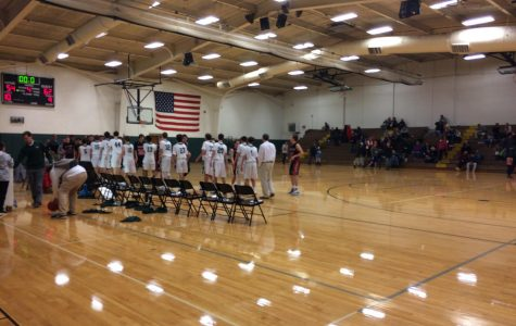 JV boys basketball falls to the Hawks of FHE 62-54