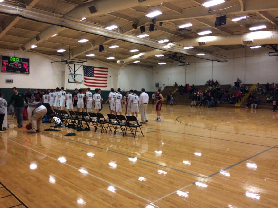 JV boys basketball falls to the Hawks of FHE 62-54