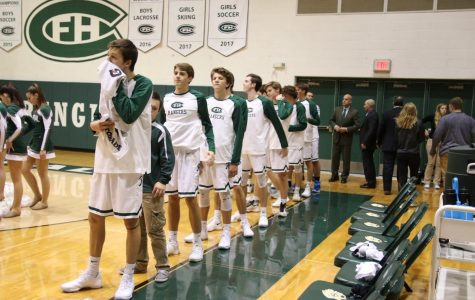 Boys varsity basketball loses in crushing fashion to Traverse City Central 66-65